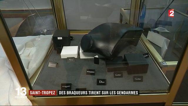 Saint-Tropez : des braqueurs tirent sur les gendarmes