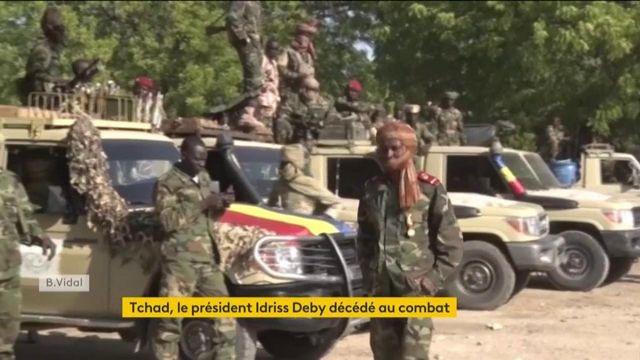 Tchad : mort du président Idriss Déby :