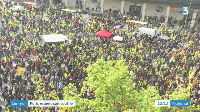 """1er-Mai : les """"gilets jaunes"""" en première ligne à Paris"""