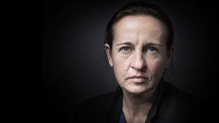 """La romancière Céline Minard publie """"Le grand jeu"""" (Rivages)  (JOEL SAGET / AFP)"""