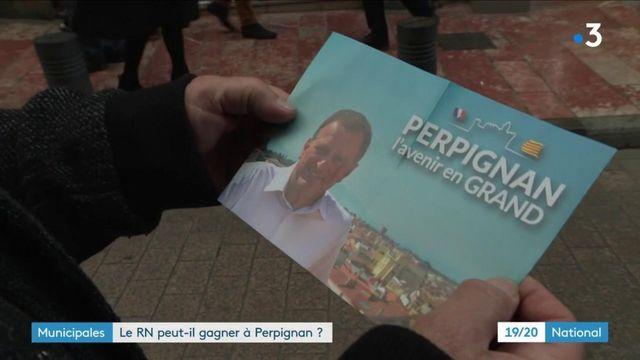Municipales : à Perpignan, Louis Aliot gagne du terrain sur le maire sortant