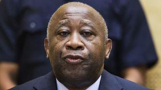 L'ancien président ivoirien Laurent Gbagbo au cours d'une séance de confirmation des charges à la CPI, le 19 février 2013. (Photo Reuters/Michael Kooren)