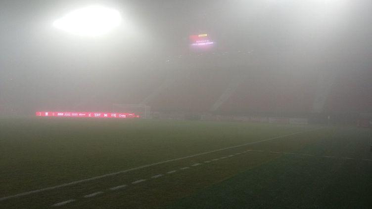 Le brouillard à Dijon