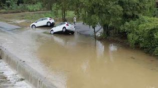 Gard : un record de pluie dans le département (FRANCE 2)