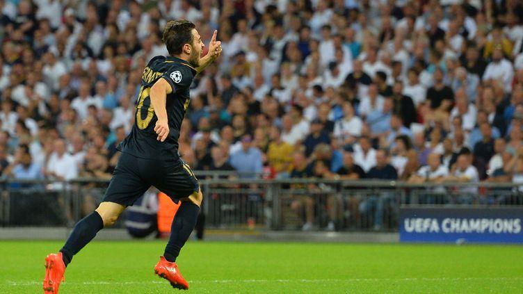 Bernardo Silva a ouvert le score face à Tottenham (GLYN KIRK / AFP)