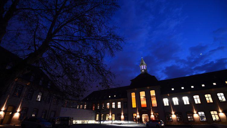 Le bâtiment abritant l'ENA, l'Ecole nationale d'administration, à Strasbourg (Bas-Rhin), le 14 janvier 2013. (PATRICK HERTZOG / AFP)