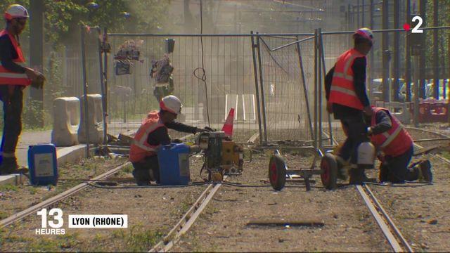 Lyon : ces travailleurs exposés à la canicule