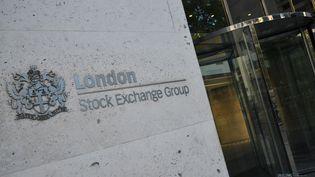 L'entrée de la Bourse à Londres (Grande-Bretagne). (NICK ZONNA / IPA / MAXPPP)