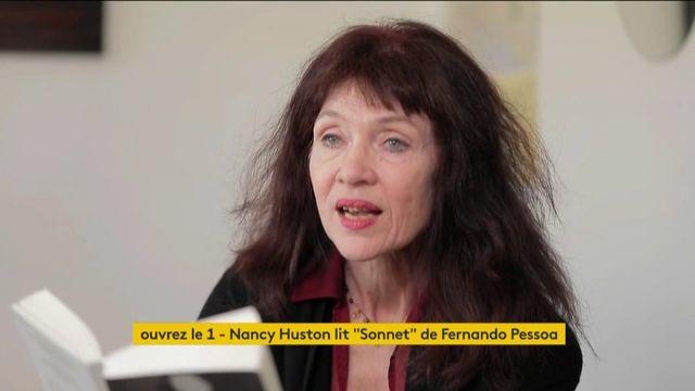 VIDEO. Nancy Huston lit un sonnet de l'écrivain portugais Fernando Pessoa
