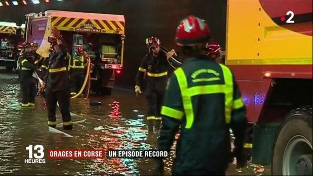 Intempéries : épisode orageux record enregistré en Corse