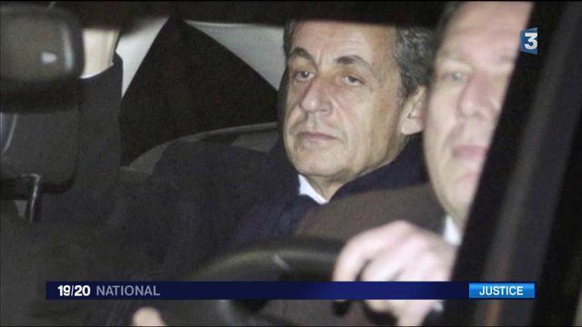France 3 (19/20) Nicolas Sarkozy face à une nouvelle mise en examen