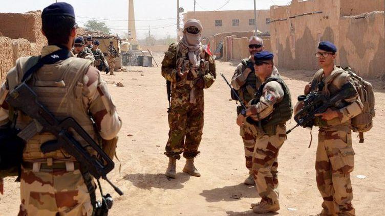 Patrouille française de l'opération barkhane à Kidal au Mali. (AFP)