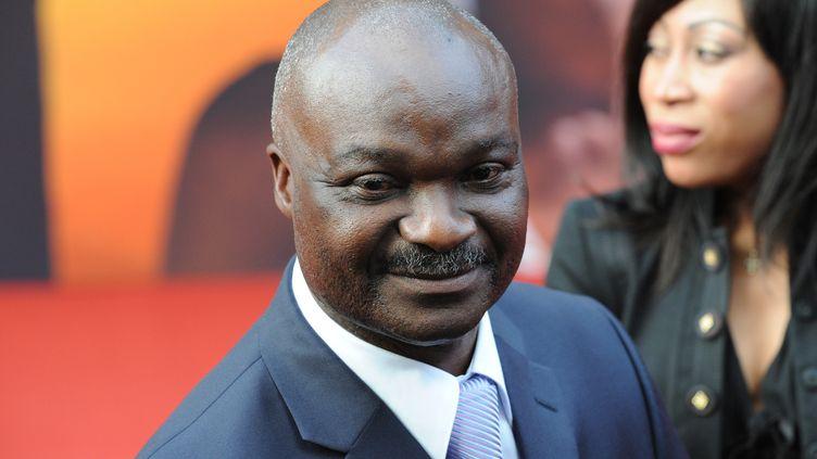 L'ancien international camerounais Roger Milla (FRANCOIS XAVIER MARIT / AFP)