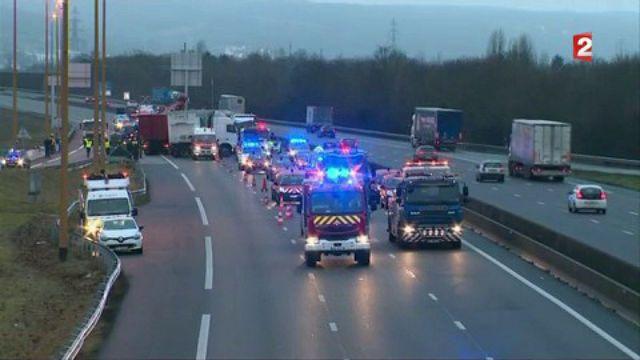 Accident sur l'A13 : les raisons encore inconnues