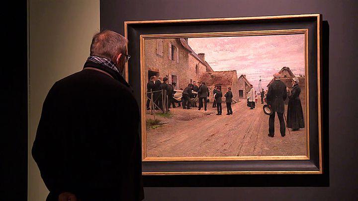 """Exposition """"En terre inconnue"""" au musée Thomas Henry (France 3 Normandie)"""