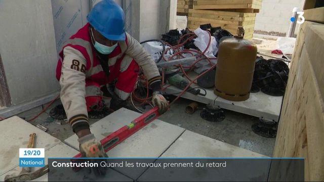 Immobilier : la crise sanitaire provoque de nombreux retards sur les chantiers