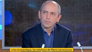 Pierre Larrouturou (Capture d'écran franceinfo)