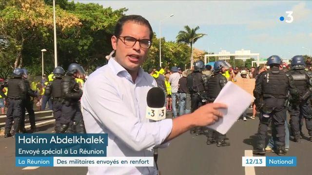 La Réunion : des militaires envoyés en renfort
