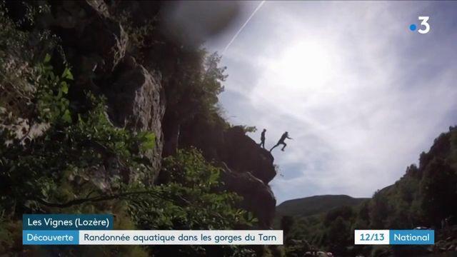 Vacances : randonnée aquatique dans les gorges du Tarn