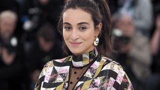 La chanteuse et comédienne Camélia Jordana, le 21 mai 2019 lors du Festival de Cannes (Alpes-Maritimes). (LAURENT VU / HAEDRICH JEAN-MARC / SIPA)