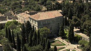 ÀVilleneuve-lès-Avignon, dans le Gard, le jardin de l'abbaye Saint-André, un parc de deux hectares, vient d'obtenir le Prix de l'art et du jardin. (CAPTURE ECRAN FRANCE 2)
