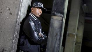 Le rappeur Rohff, le 3 octobre 2013, à Paris. (  MAXPPP)