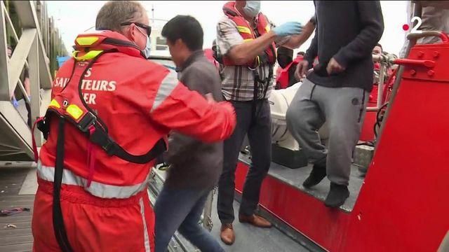 Manche : des marins-pêcheurs sous le choc après avoir sauvé la vie de migrants en mer