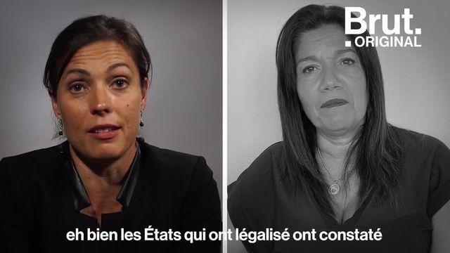 Vers une légalisation du cannabis ? On a posé la question à Caroline Janvier, députée de la majorité et co-autrice d'un rapport sur le cannabis, et Samia Ghali, maire-adjointe de Marseille. L'une est pour, l'autre est contre. Voici leurs arguments.