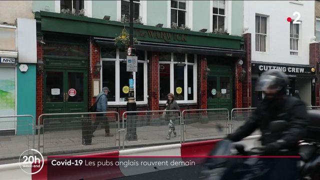 Covid-19 : l'Angleterre rouvre les terrasses des bars et restaurants