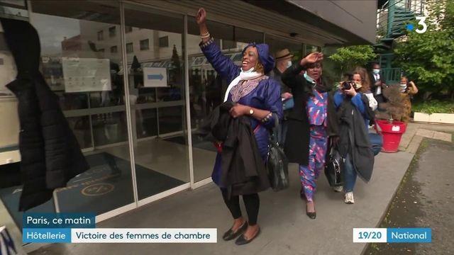Hôtellerie : victoire des femmes de chambre du l'Ibis Batignolles