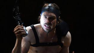 Lars Eidinger est Richard III, mis en scène par Thomas Ostermeier  (Boris Horvat/AFP)