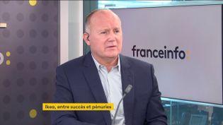 Walter Kadnar, PDG d'Ikea France, le 14 octobre 2021. (FRANCE INFO / RADIO FRANCE)