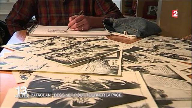Bataclan : dessiner pour tourner la page
