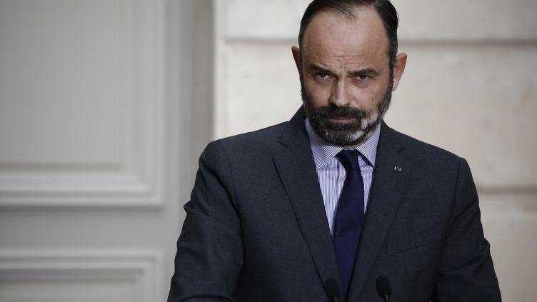 Le Premier ministre Edouard Philippe à l'Elysée, le 15 janvier 2020. (BENOIT TESSIER / REUTERS)