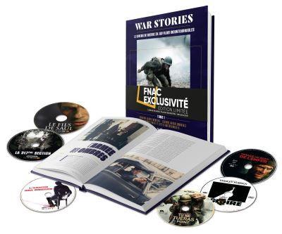 """Le coffret livres DVD """"War Stories"""" de Sofilm. (Sofilm)"""
