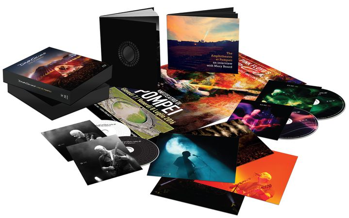 L'edition coffret deluxe qui regroupe CD, Blu-Ray et goodies
