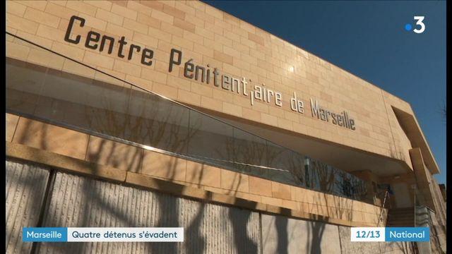Marseille : quatre détenus s'évadent