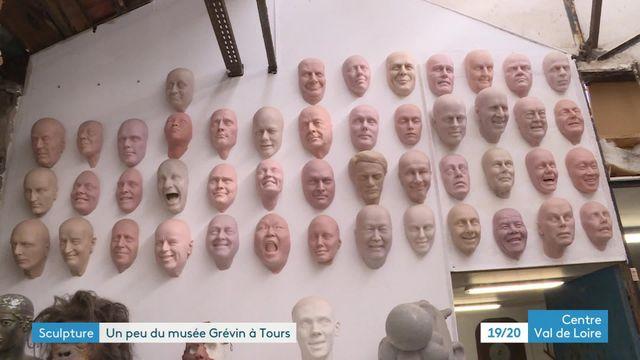 Stéphane Barret, l'un des sculpteurs du musée Grévin, ouvre les portes de son atelier