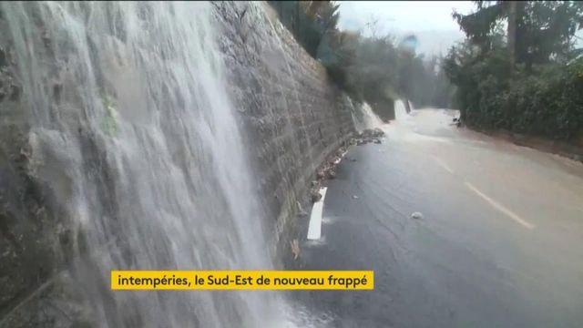 Intempéries : le Sud-Est de la France de nouveau frappé