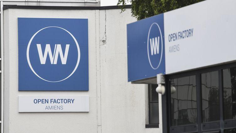 L'entrée de l'usine WN, ex-Whirlpool, à Amiens (Somme), le 29 mai 2019. (DENIS CHARLET / AFP)