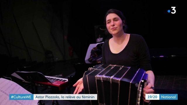 Musique : portrait de Louise Jallu, sur les traces d'Astor Piazolla