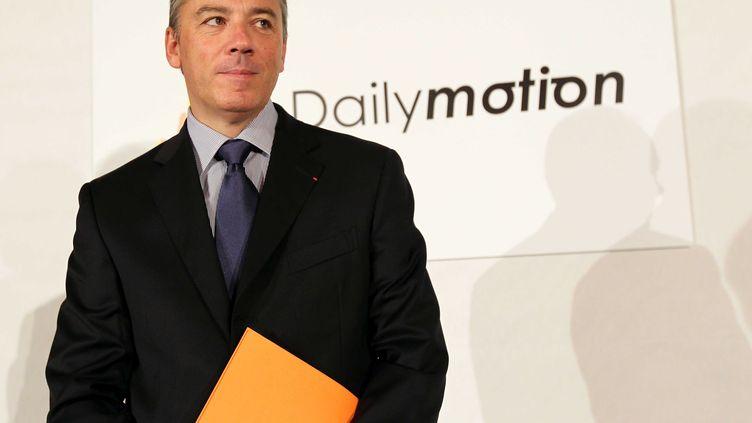 Stéphane Richard, le PDG de France Télécom, à Paris, le 25 janvier 2011. (MEIGNEUX / SIPA)