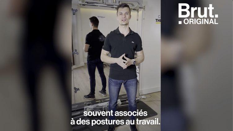 VIDEO. Tuto : comment avoir moins mal au dos (BRUT)