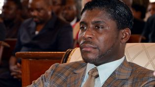 Le vice-président de la Guinée Equatoriale Teodorin Obiang le 25 juin 2013. (JEROME LEROY / AFP)