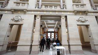 Le palais de justice de Strasbourg (Bas-Rhin). (FREDERICK FLORIN / AFP)