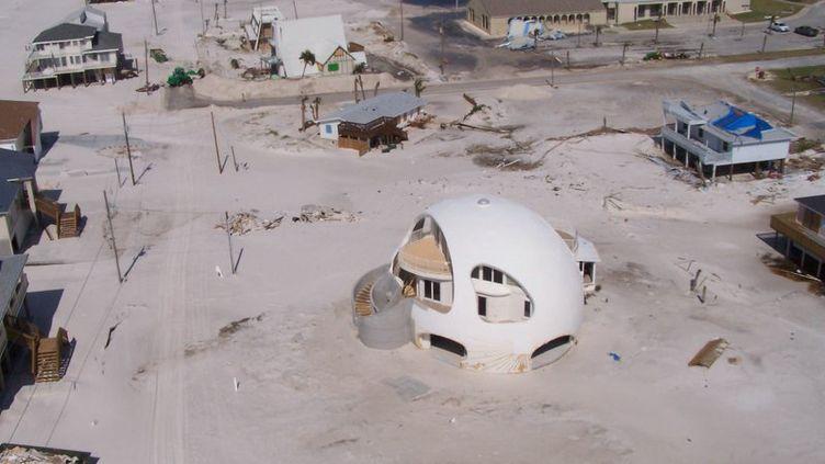 Maison conçue pour résister aux cyclones. (NATIONAL OCEANIC AND ATMOSPHERIC ADMINISTRATION)