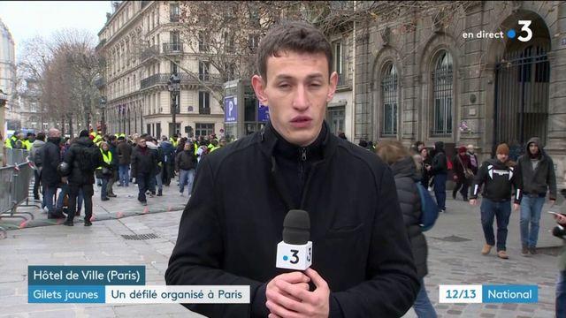 """""""Gilets jaunes"""" : un défilé organisé à Paris pour l'Acte 8 du mouvement"""