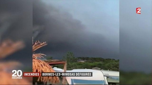 Incendies : Bormes-les-Mimosas défigurée