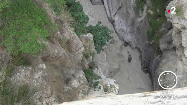 Italie : huit randonneurs emportés dans la crue soudaine d'un torrent