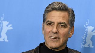 George Clooney à Berlin pour la 66e Berlinale le 11 février 2016  (Tobias Schwarz / AFP)